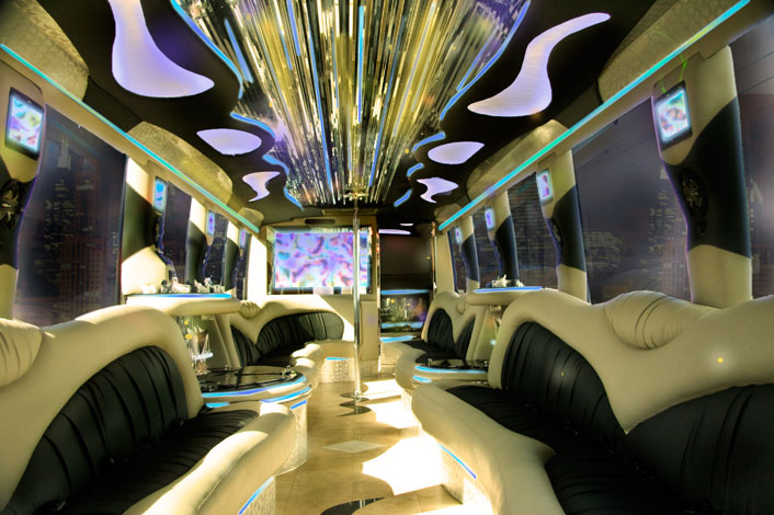 Beverly Hills Party Bus